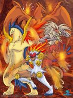 Poketeam FR-Blaze of Fire Army by Pokemon-FR