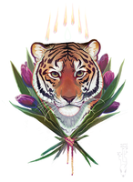 Tulip Tiger by CoyoteMange