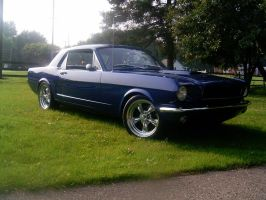 1965 Mustang in Ohio by BackMasker