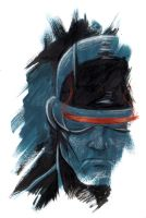 Marvel Blur - Cyclops by mariocau