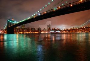 Brooklyn Bridge by valveTRonic
