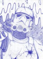 rising trooper by MagdaAntonello