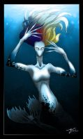 Mermaid Gaga by Epsthian-Artist