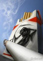 Cigarettes kill by Tyliss