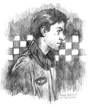 Travis Bickle - Pencil by sobreiro
