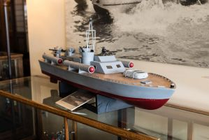 PT Boat Model at Americas Packard Museum by PLutonius