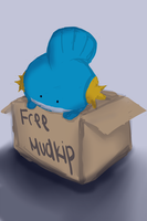 Sad Mudkip by IceCremeCake