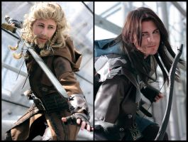 Fili and Kili cosplay 2 by XMenouX