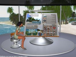 Scene for my MiaMedia landing page by Cobalt3D