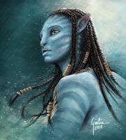 Neytiri by JuliaFox90