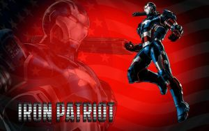 Iron Patriot - Avengers Alliance by Superman8193