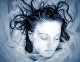 Laura Palmer  (In Living Color) Forget me not by TheNightGallery
