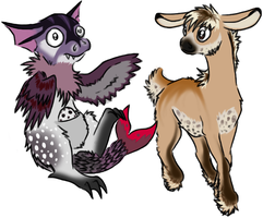 Adoptable creatures: Name your price CLOSED by SpitfiresOnIce