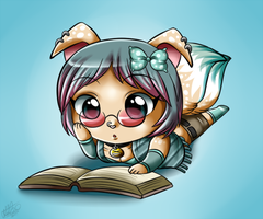 LAWL- Bookworm by Sweetochii