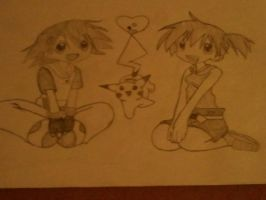 ash and misty by zita952