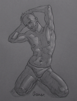 Figure Drawing #65 by AngelGanev