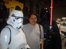 me with Starwars Characters by taikun21