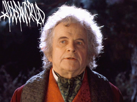 It's a Cold World for Bilbo Baggins by vaccinate14