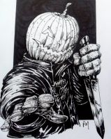 Pumpkin Head by PM-Graphix