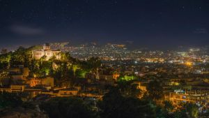 Athens by night by MarioGuti