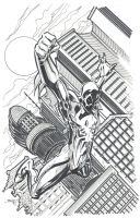 Spiderman 2099 Commission by rantz