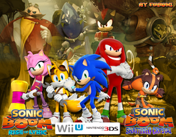 Wallpaper Sonic Boom -All Versions- by FubukiSnowStorm