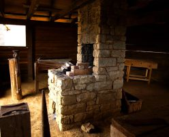 A Blacksmith's Forge by alimuse
