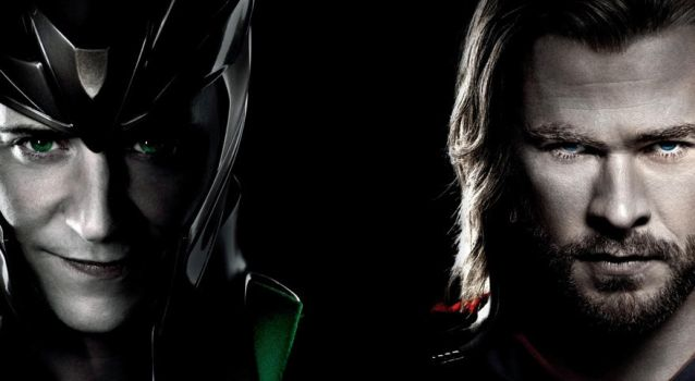 Thor and Loki Background. by Allexaire