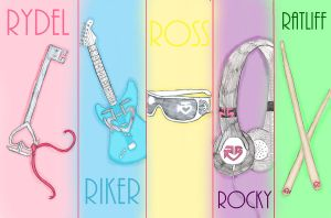 R5 Poster by FlameFireheart