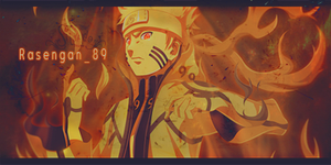 Awesome Naruto Bijuu Mode Signature by SL4eva
