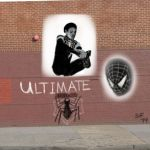 Ultimate Spider-man Banksy style by Number1Exile