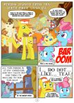 Auntie Pinkie Knows All, page 1 by Mister-Saugrenu