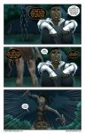KTTY: Goat-Foot Woman Page 2 by BurrellGillJr