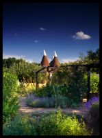 Oast House Garden by FreddyC