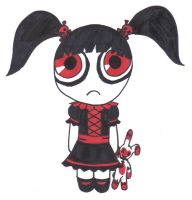 Gothic Powerpuff Girl by RikuHikari-Neo
