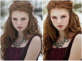 Before and After : Retouch by HayleyGuinevere