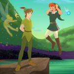 Link and Peter Pan outfit swap by Dragonauroralight