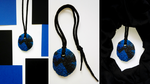 blue clay necklace 2 by queenofexecutions