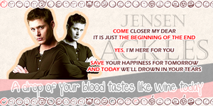 -Jensen Ackles- by Bisi--Dsgn