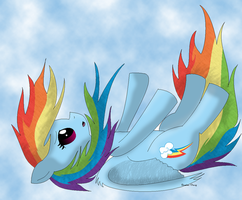 Fallen Rainbow (( RE DONE )) by Pokedom2001