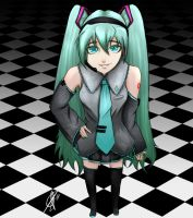 Miku by The-Oceanborn