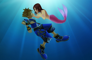 MMD - Underwater Encounter - Sokai by XxChocolatexHeartsxX