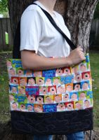 Family Guy quilted bag by quiltoni