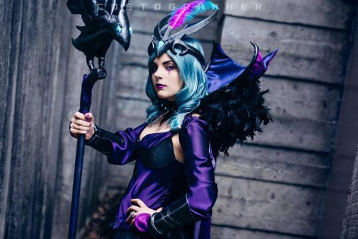 Ravenborn LeBlanc : Classic Misdirection by bloodravencosplay