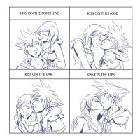 Kiss Meme - Sora and Kairi by LynxGriffin