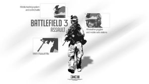Battlefield 3 Assault Soldier by DigitalMaxx