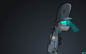 Robot Soldier Wallpaper by NotYourSagittarius