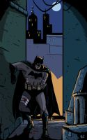 Batman Year One by Benjaminjuan