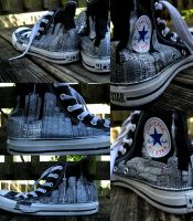 City Skyline Shoes by axeoras