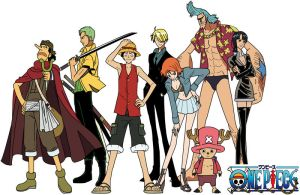 StrawHat Crew Coloured by Majin-Luffy